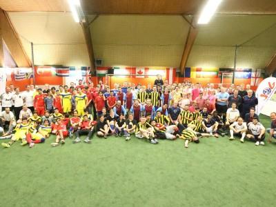 Soccerturnier Gruppenfoto