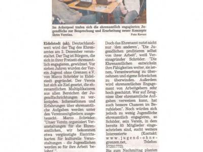 Tag des Ehrenamtes 2007