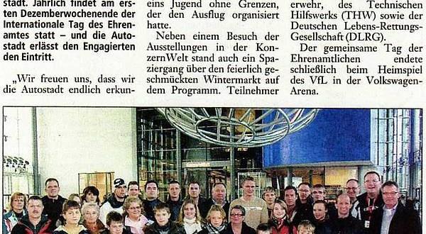 Zum Tag des Ehrenamtes: Autoststadt begrüßt Gruppe