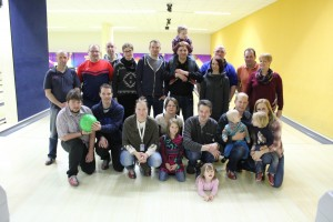 Gruppenfoto Bowling 2016
