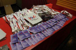 Tag des Ehrenamtes Bramfeld 2017 - Karten Schlüsselband Kartendrucker