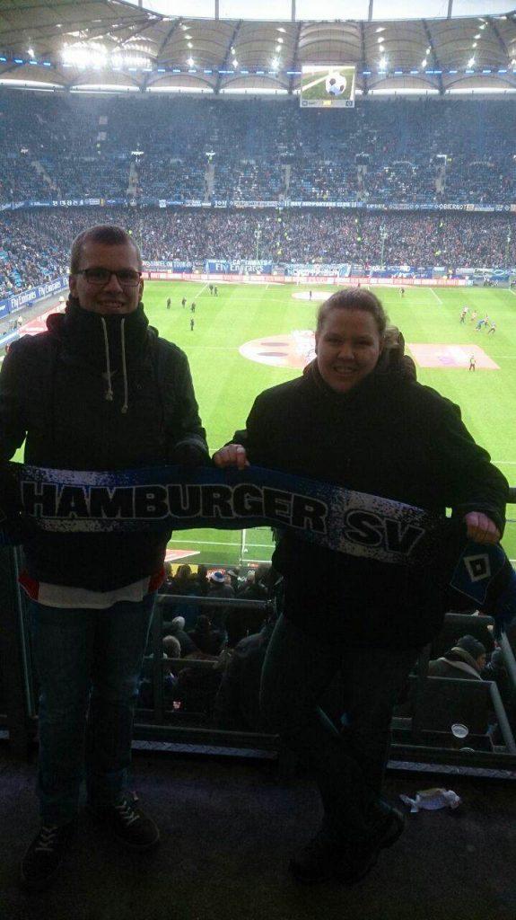 HSV gegen Bayer Leverkusen 17. Februar 2018
