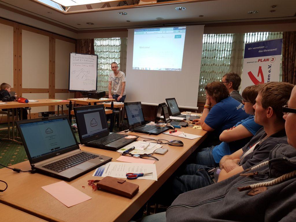 Jugendleiterkonferenz 2018 - Göttingen - Office 365 - Workshop - Laptops
