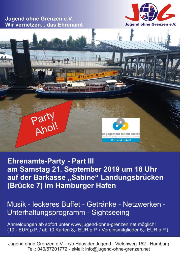Flyer Ehrenamtsparty Part 3